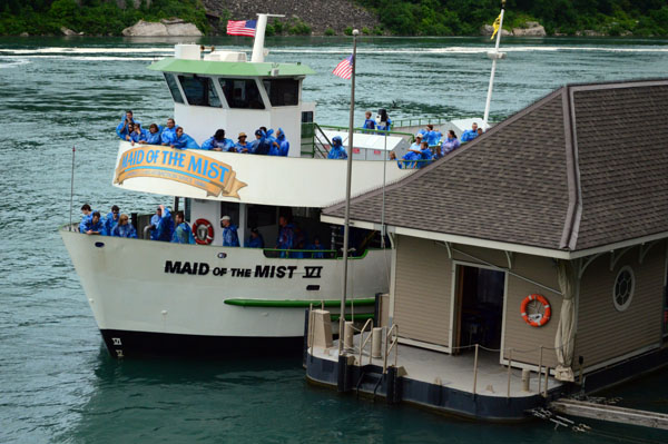 Maid of the Mist Boat Ride