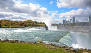 Niagara Falls in autumn