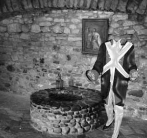headless French soldier