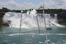martians at Niagara Falls